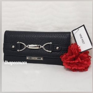 Nine West Full Size Wallet and Checkbook Cover